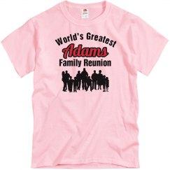 Adams family Reunion