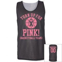 Basketball Pink Ribbon