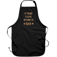Return To Bar Apron