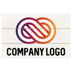 Company Logo Custom Wall Hanging