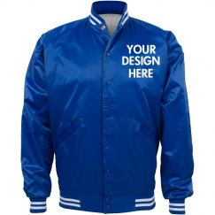 Personalized Nylon Baseball Jacket