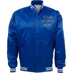 Personalized Nylon Baseball Jacket