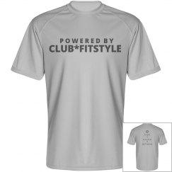 Mens performance club fitstyle shirt