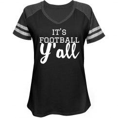 It's Football Y'all Football Mom