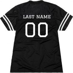 Slim-Fit Custom Football Jersey