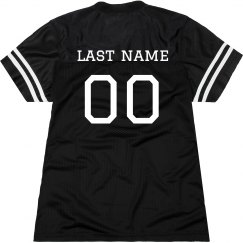 Relaxed Fit Custom Football Jersey