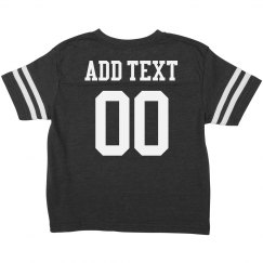 Custom Football Toddler Shirts