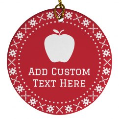 Custom Teacher Christmas Gifts