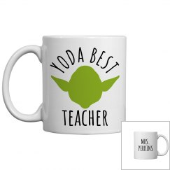 Yoda Best Custom Teacher Gift