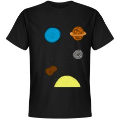 Planets in Space Tee