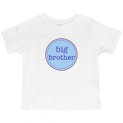 Big Brother Tshirt Blue Navy