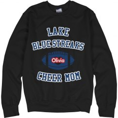 Blue Football Sweatshirt