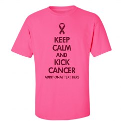 Kick Breast Cancer Pink