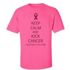 Kick Breast Cancer Pink