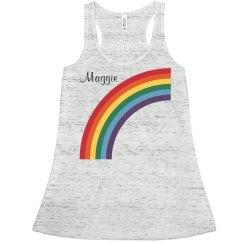 Rainbow Glow Run Girl 1