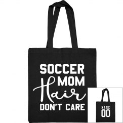 Custom Soccer Mom Hair Bag