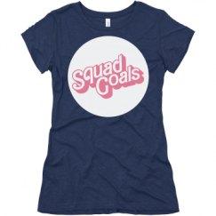 Ladies Slim Fit Super Soft Triblend Tee