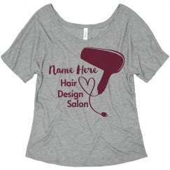 Custom Name Hair Salon