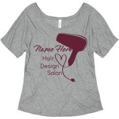 Custom Name Hair Salon
