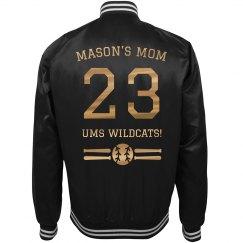 Metallic Custom Baseball Mom Jersey