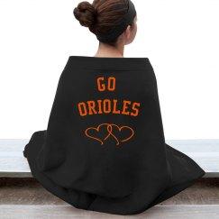 Oriole Stadium Blanket