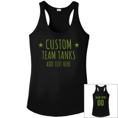 Custom Workout Team Design