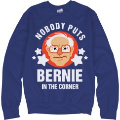 Bernie Won't Be Cornered