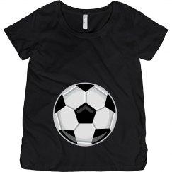 Soccer Maternity Shirt