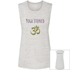 Yoga stoned thick sleeved tank
