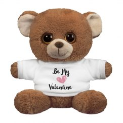 Be My Valentine Stuffed Bear