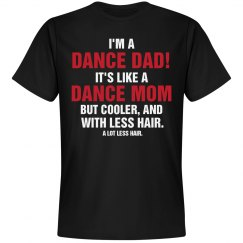 Funny Dance Dad Facts Shirts