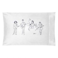 Kaleo Band Pillowcase