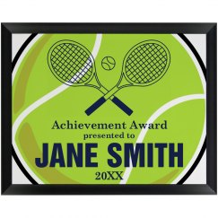 Tennis Achievement Award