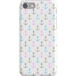 Cute Anchors iPhone Case