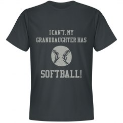 I Can't, My Granddaughter has Softball!