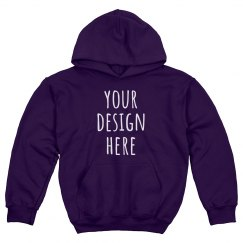 Custom Kids Hoodie Cheer/Sports