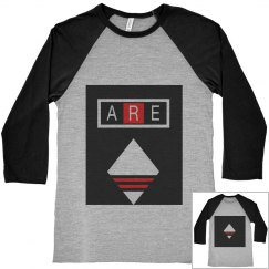 ARE 3/4 Sleeve Raglan Tee