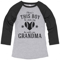 Baseball Grandma For Life