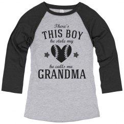 Baseball Grandma For Life