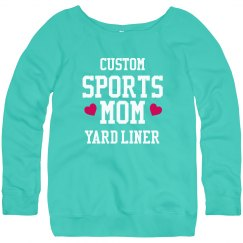 Custom Sports Mom Sweatshirt