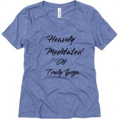 Heavily Meditated V Neck