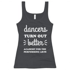 Ladies Dancers Turn Out Better Tank APA