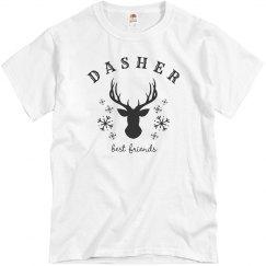 Dasher Best Friends T-Shirt
