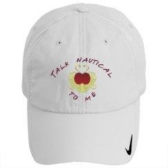 Talk Nautical golf hat