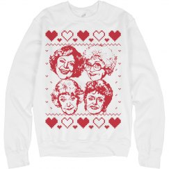 Ugly Xmas Golden Girls