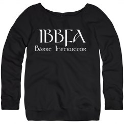 IBBFA BARRE INSTRUCTOR