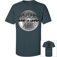 what is love-tall men's tee