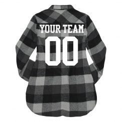 Custom Team Flannel & Player