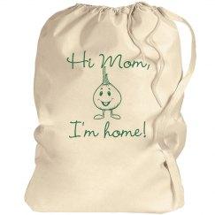 Hi Mom Laundry Bag