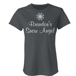 Custom Snow Angel Tee